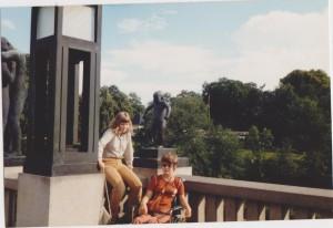 Tror dette er 1980 i Frognerparken - etter Stord og Ulefostur. Foto: Privat