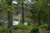 Utsikt fra veien rundt Haukvannet/The view from the road around Haukvannet