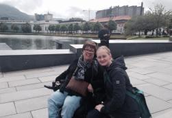På Festplassen med Kjersti, tidligere assistent.