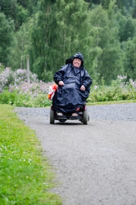 Det regnet på tur- regntrekk må til! :) Foto: Marta Øgaard