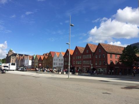 Bryggen i Bergen. Foto: Ann Beathe Dimmen Sæther