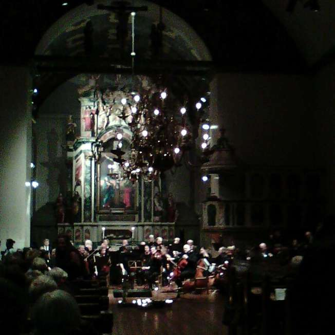 """""""Forklädd Gud"""" - Konsert i Vår Frue Kirke/""""God in disguise"""" - a concert at the Vår Frue church"""