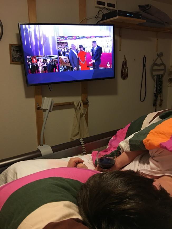 Jeg innviet min nye TV med å se deler av Oscarutdelingen natt til mandag